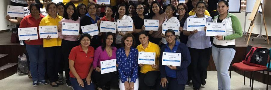 Taller de Actualización de Disciplina Positiva para profesores Colegio Cenu.